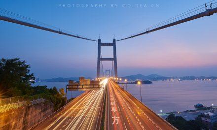 东莞夜景之 虎门大桥