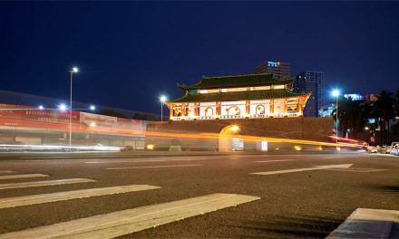 东莞延时摄影之 西城楼